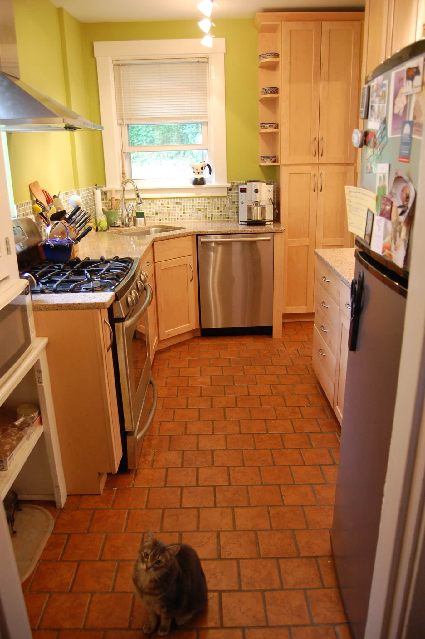 Heather's Expanded Pittsburgh Kitchen: gallery image 1