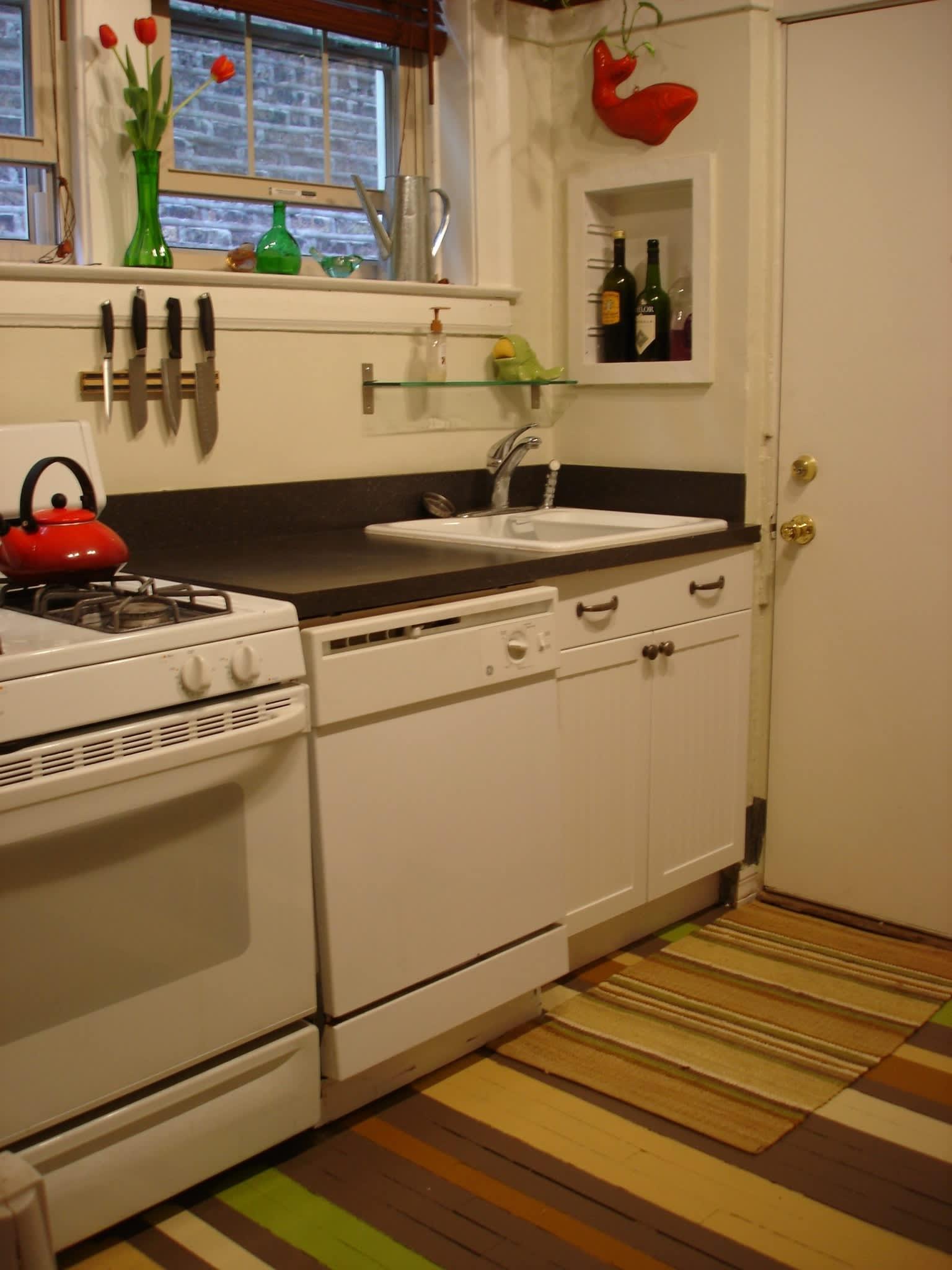 Alex's Cheery Chicago Kitchen: gallery image 1