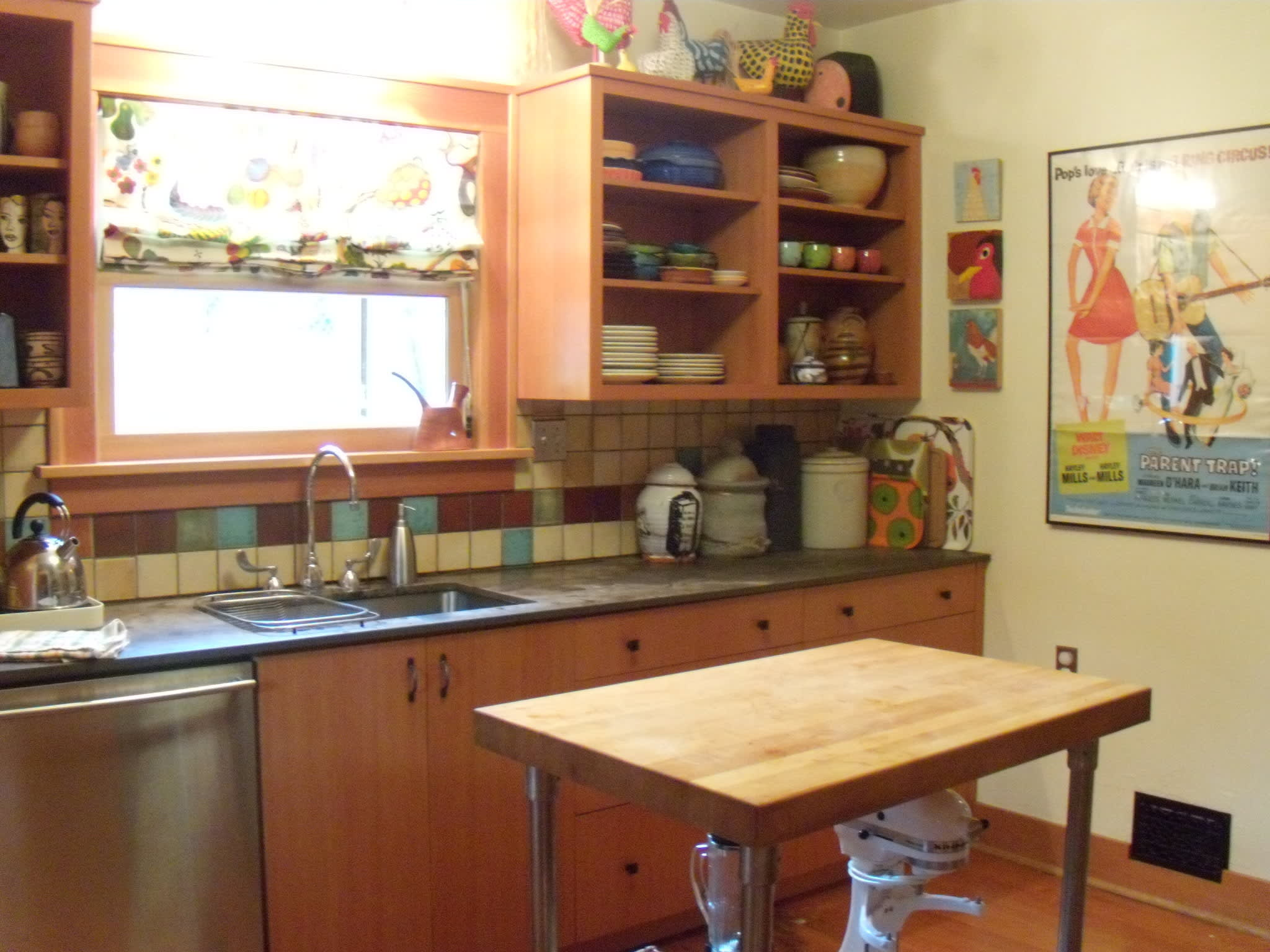 Tracy's Colorful Portland Bungalow Kitchen: gallery image 1