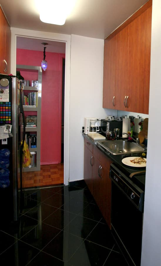 Kitchen Tour: Gillian's Stealthy but Colorful Kitchen: gallery image 2