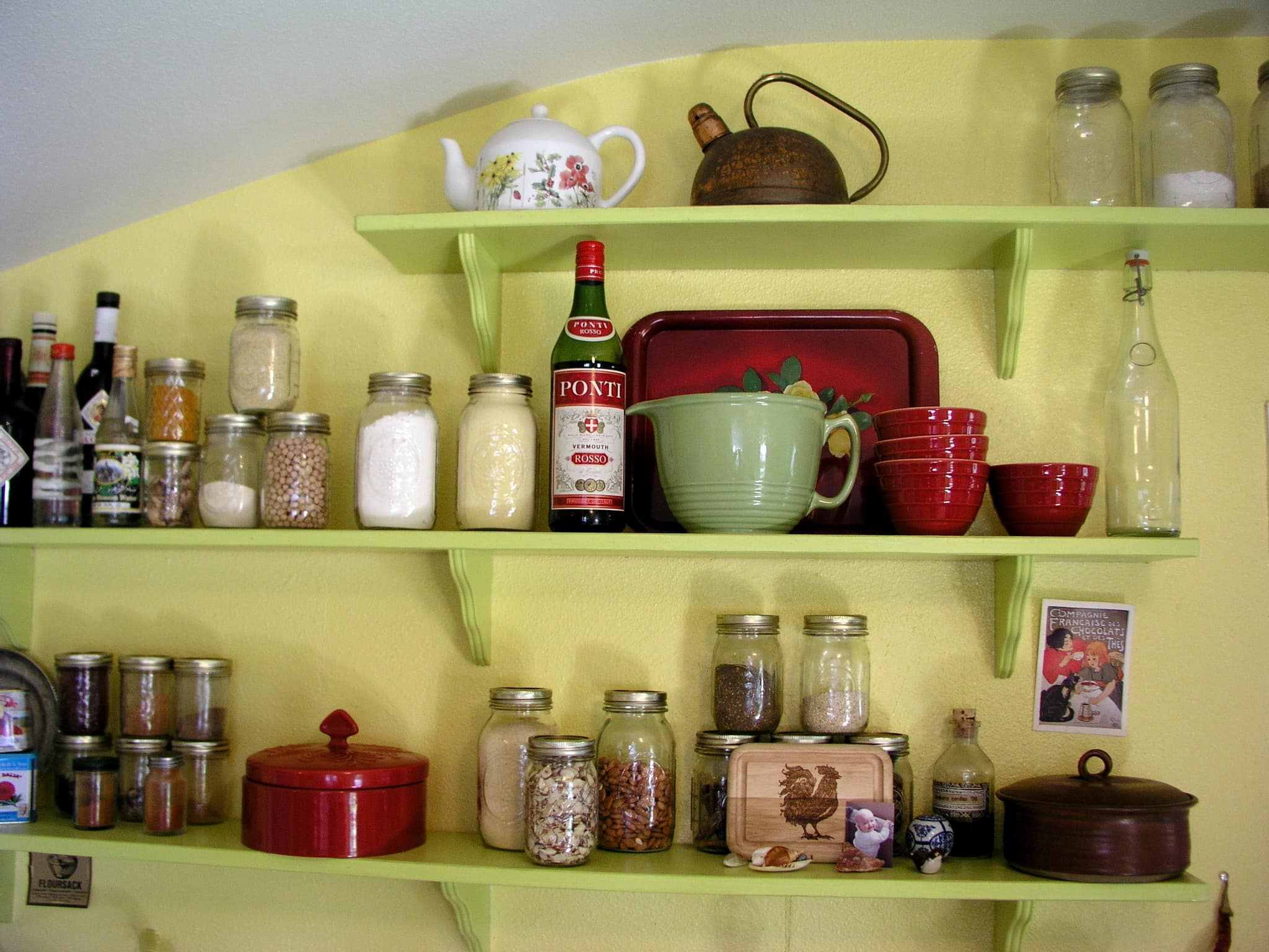 Ariana's Cheerful, Colorful Portland Kitchen: gallery image 2