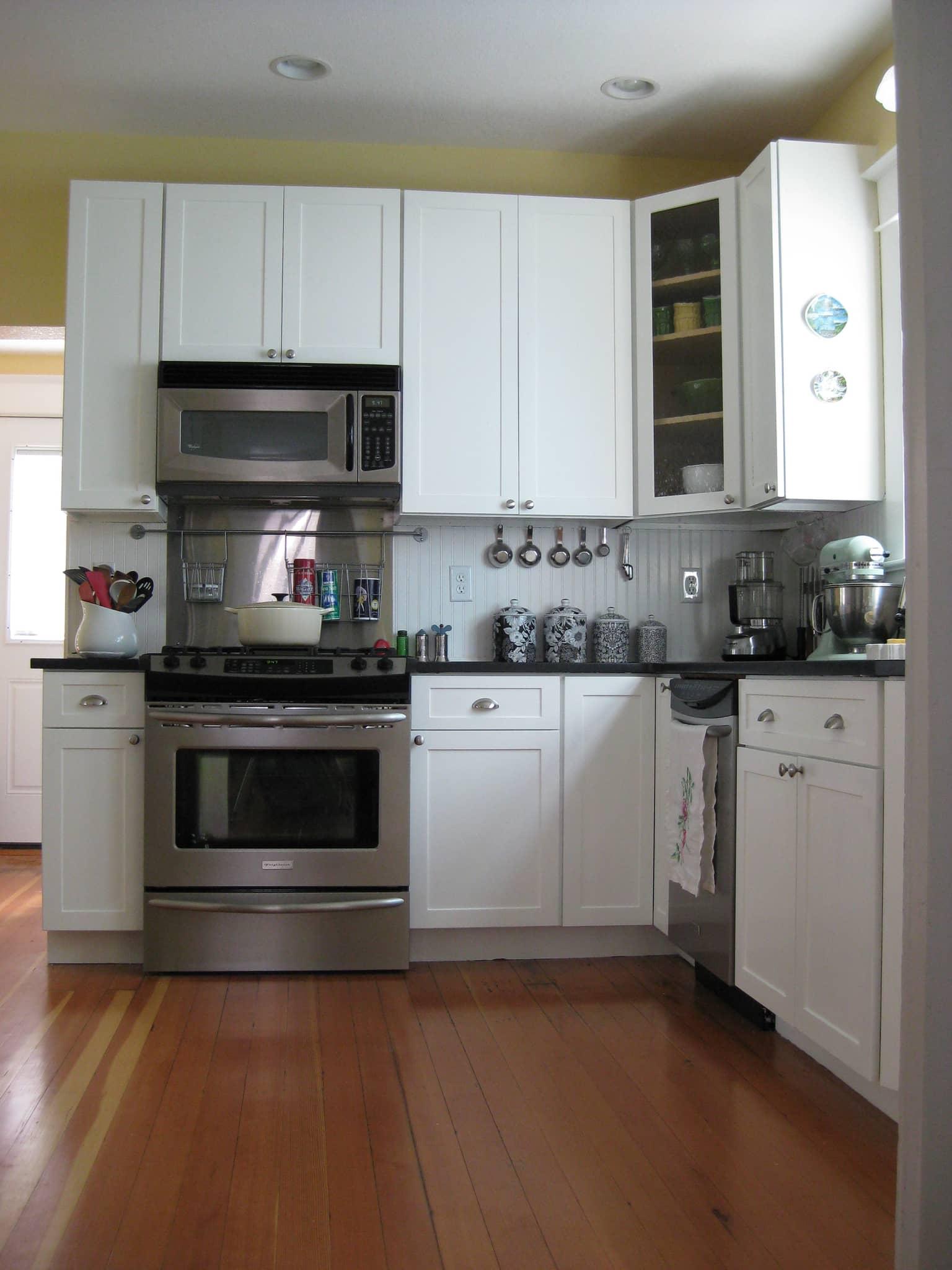 Brittany's New Bright White Portland Kitchen: gallery image 1
