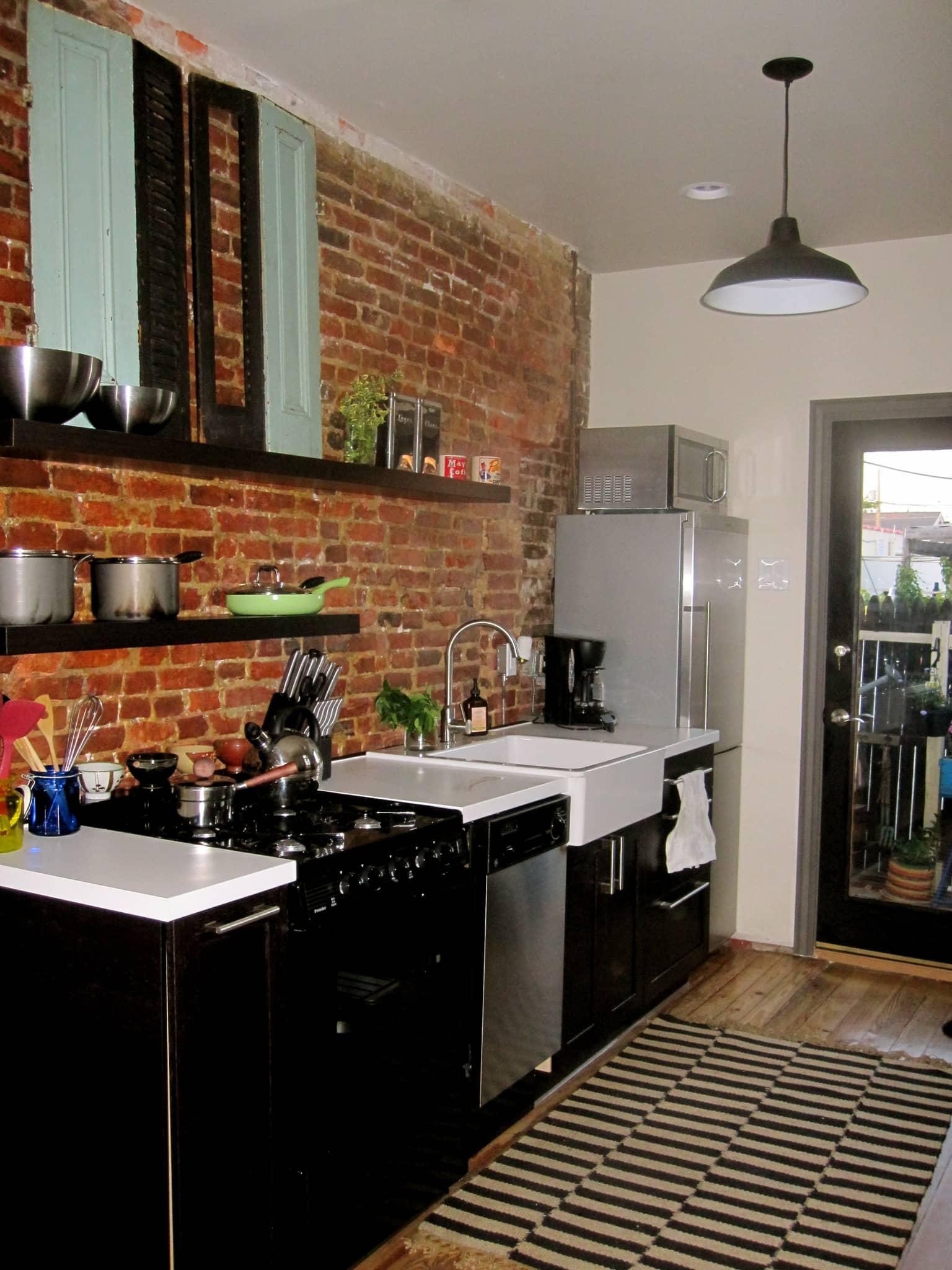Helen's Eclectic Yet Calming Philadelphia Kitchen: gallery image 1