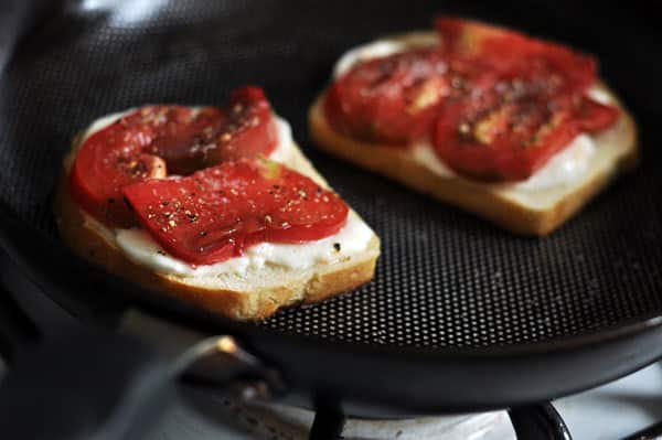 Favorite Lunch Recipe: Tomato Mozzarella Sandwich: gallery image 2