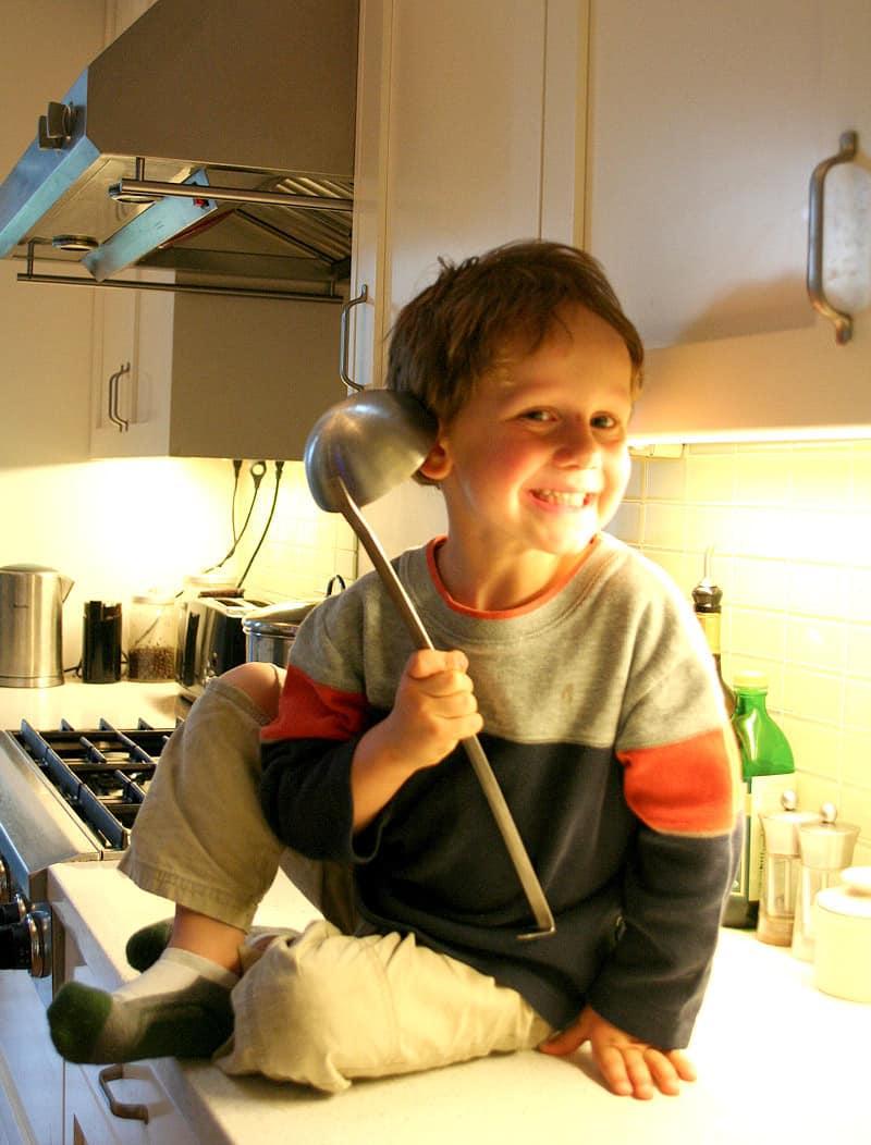 Kitchen Tour: Jasper & Rebecca's Updated Bay Area Classic: gallery image 16