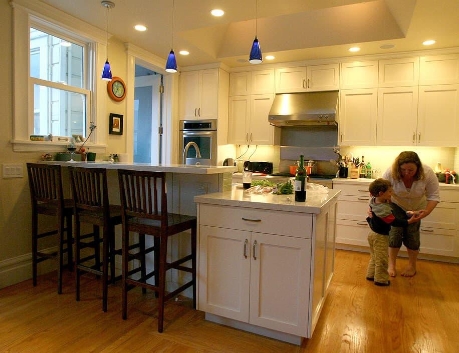 Kitchen Tour: Jasper & Rebecca's Updated Bay Area Classic: gallery image 1