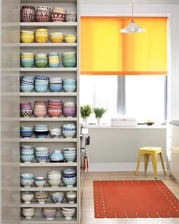 A Martha Stewart Staffer's Colorful, Very Organized Kitchen: gallery image 1
