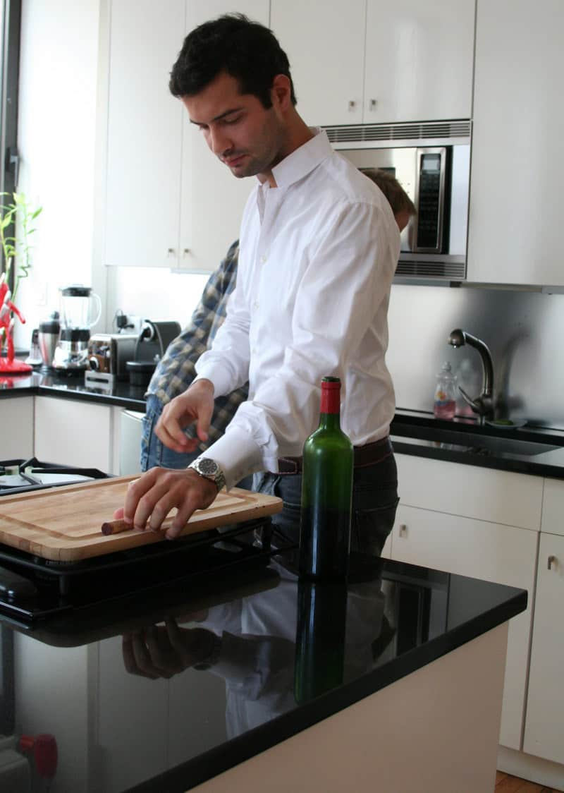 Kitchen Tour: Antoine Roset Hosts French Style in NY: gallery image 22