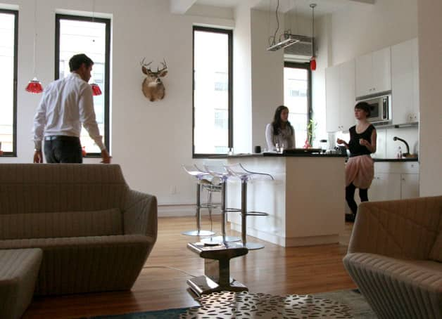 Kitchen Tour: Antoine Roset Hosts French Style in NY: gallery image 1
