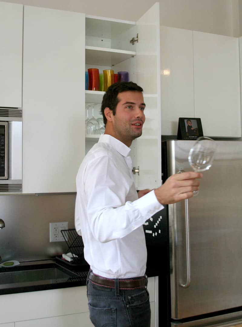 Kitchen Tour: Antoine Roset Hosts French Style in NY: gallery image 23