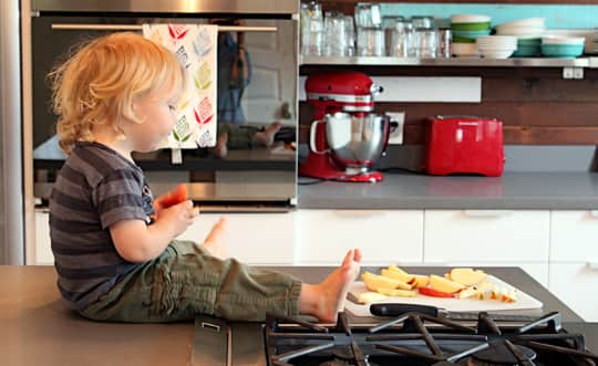 Kitchen Tour: Shelby and Joe's Fabulous Family Kitchen: gallery image 12
