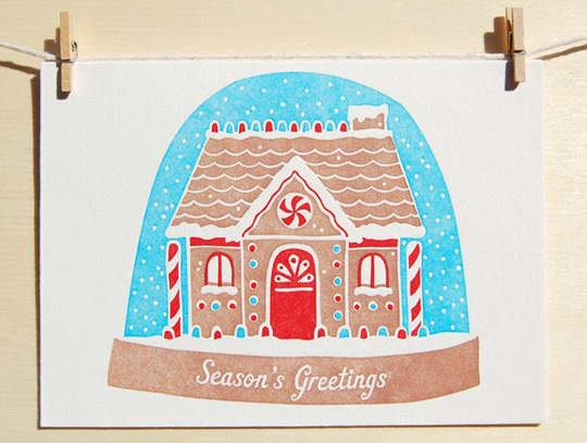Good Enough to Eat: 5 Holiday Cards for Food Lovers: gallery image 1