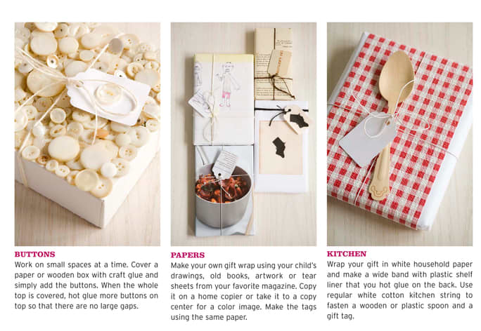 10 Crafty Cool Ways to Wrap Gifts from The Kitchen: gallery image 5