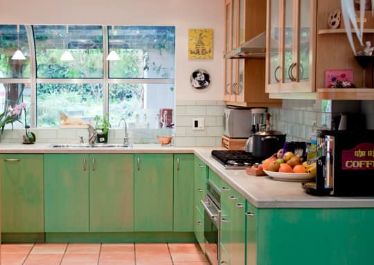 Kitchen Tour: Cissy and Richard's Relaxed Green Kitchen: gallery image 2