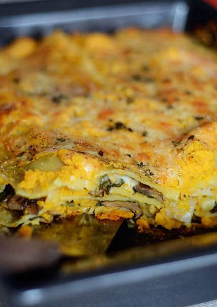 Recipe: Vegetable Lasagna with Butternut Béchamel: gallery image 4
