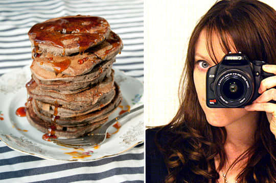 Blueberry Buckwheat Pancakes from Megan of Not Martha: gallery image 1