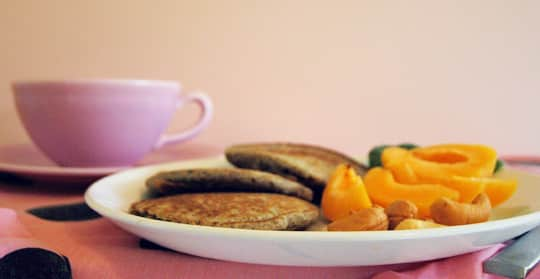 Blueberry Buckwheat Pancakes from Megan of Not Martha: gallery image 4
