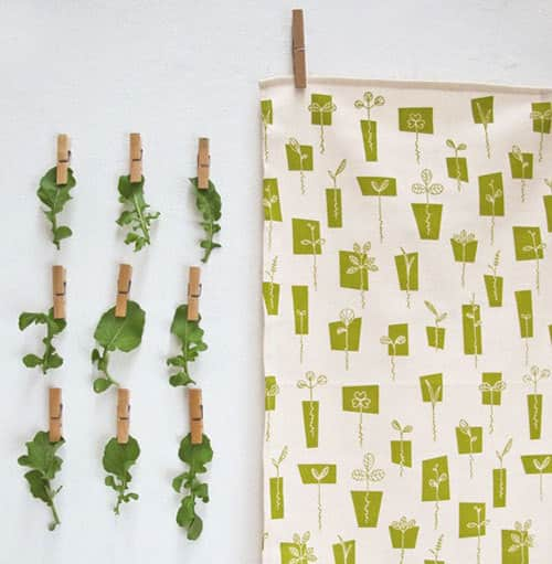 5 Fresh and Pretty Tea Towels For Spring: gallery image 1