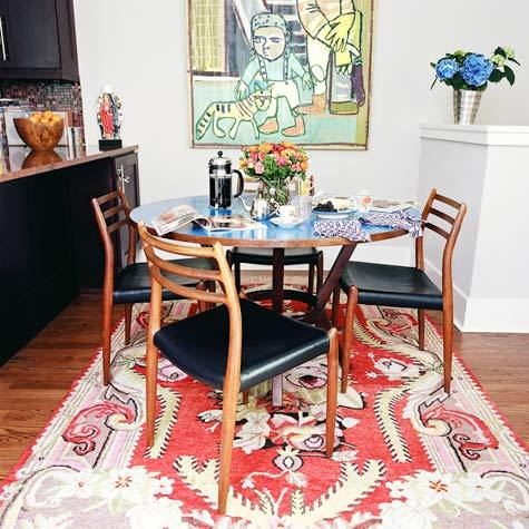 Would You Put an Antique or Oriental Rug in Your Kitchen?: gallery image 5