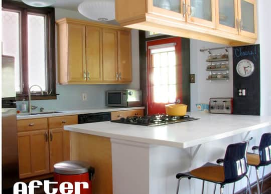 Kitchen Before & After: A Cozy Little (Kitchen) Cave: gallery image 2