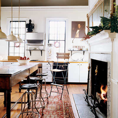 Would You Put an Antique or Oriental Rug in Your Kitchen?: gallery image 6