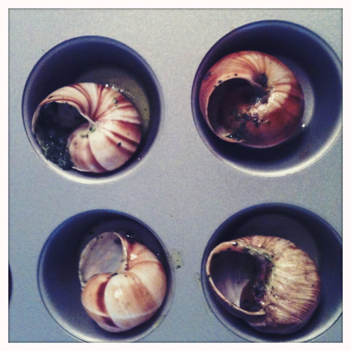 Bake Kid-Pleasing Escargot in a Mini-Muffin Tin: gallery image 2