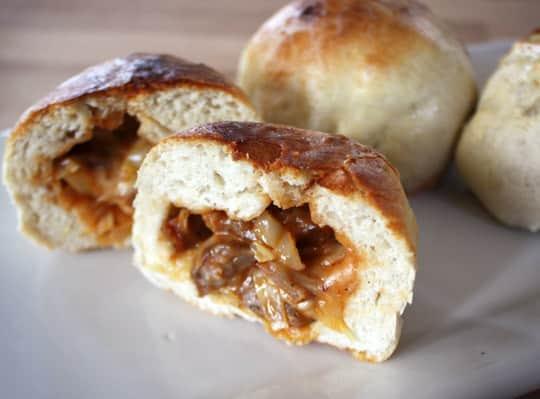 Recipe: BBQ Cabbage & Sausage Stuffed Sandwiches: gallery image 10