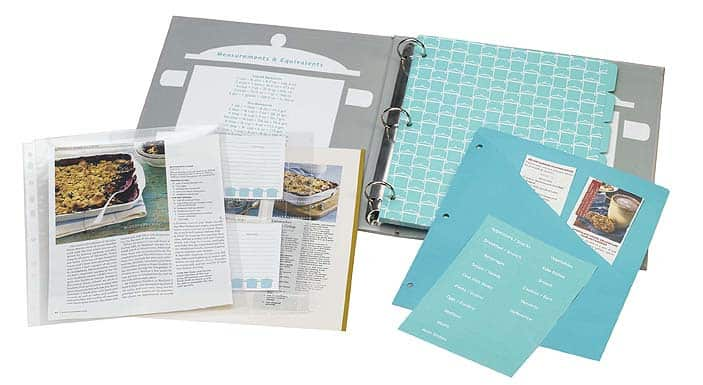 Recipe Storage Binders from Meadowsweet Kitchens: gallery image 1