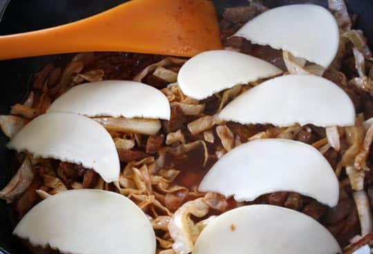Recipe: BBQ Cabbage & Sausage Stuffed Sandwiches: gallery image 5