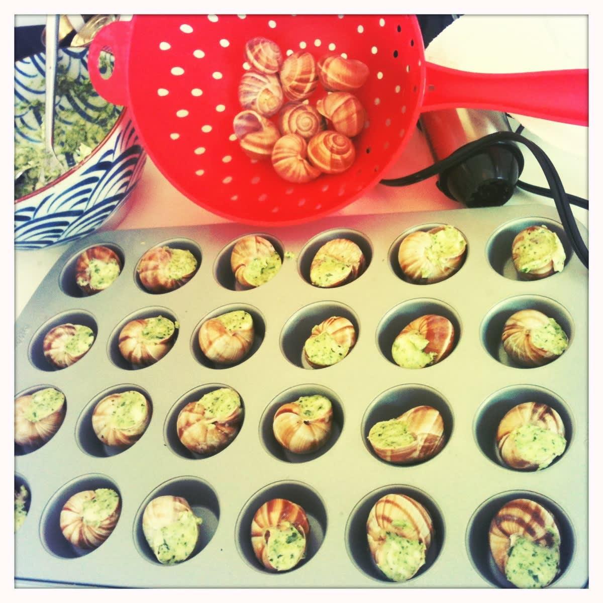 Bake Kid-Pleasing Escargot in a Mini-Muffin Tin: gallery image 1