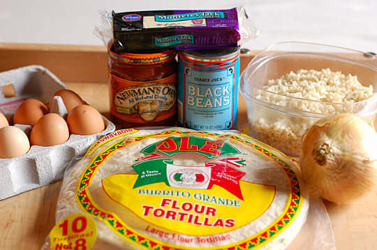 How To Make a Breakfast Burrito: gallery image 2