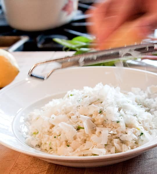 Restaurant Recipe: Wild Ramp Lemon Risotto from DOC: gallery image 1