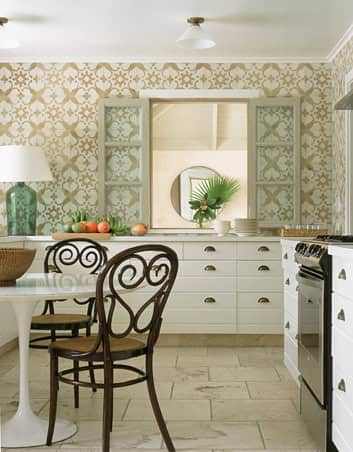 Classic & Comfy: Bentwood Chairs in the Kitchen: gallery image 2