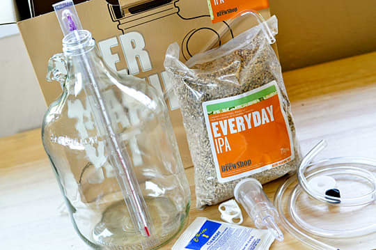Beer Brewing for Apartment Dwellers: Brooklyn Brew Shop's Smaller, More Accessible 1-Gallon Beer Kit: gallery image 1