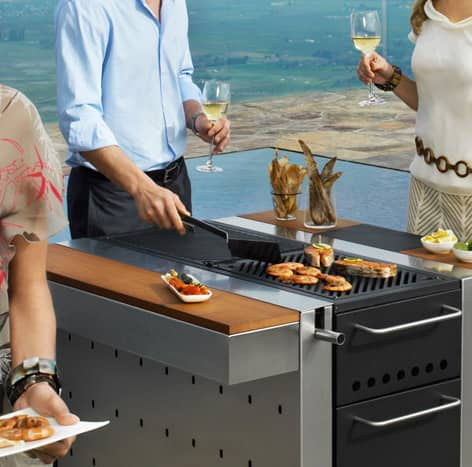 Fuego: Compact Outdoor Grills & Modular Kitchens: gallery image 6
