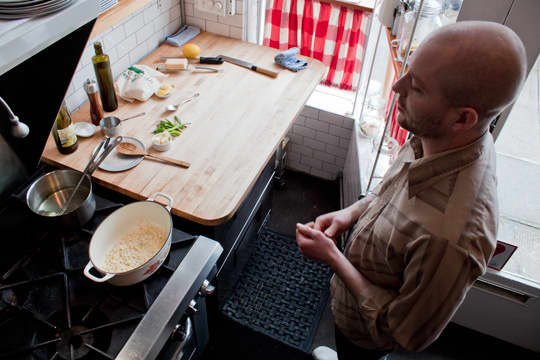 Restaurant Recipe: Wild Ramp Lemon Risotto from DOC: gallery image 3