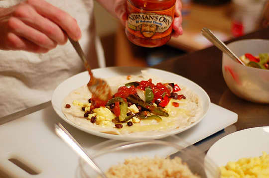 How To Make a Breakfast Burrito: gallery image 7