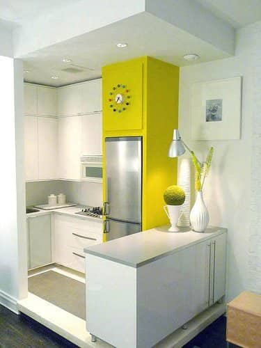 30 Small Cool Kitchens from Real Homes: gallery image 10