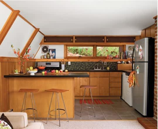30 Small Cool Kitchens from Real Homes: gallery image 2