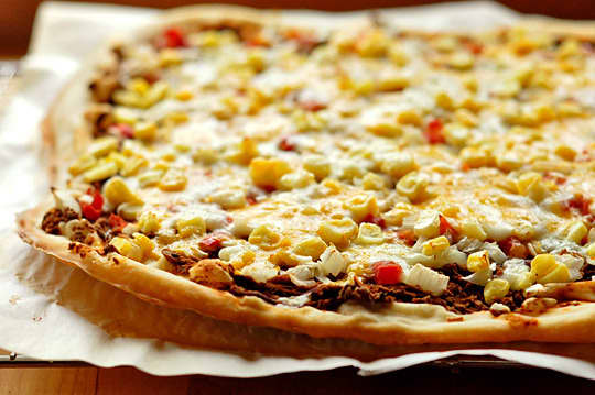 Want Really Thin Pizza Crust? Use a Rolling Pin: gallery image 1