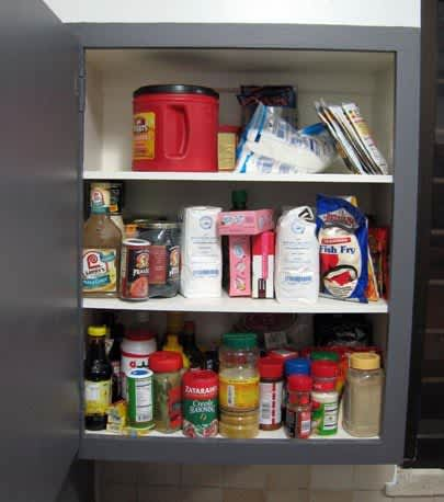 Before & After: Quick & Easy Spice Cabinet Clean-Up: gallery image 1