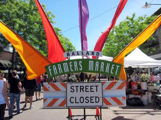 Visiting the Ballard Farmers Market: gallery image 1