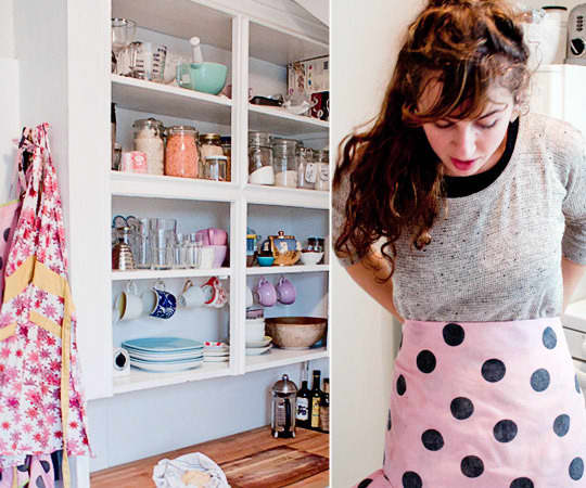 Kitchen Tour: Leela and Dave's Tiny Bright Kitchen: gallery image 15