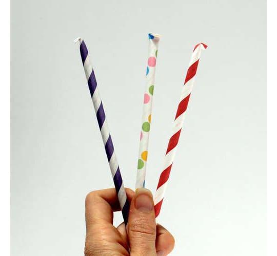 Sweet Treat: Homemade Pixie Sticks: gallery image 1