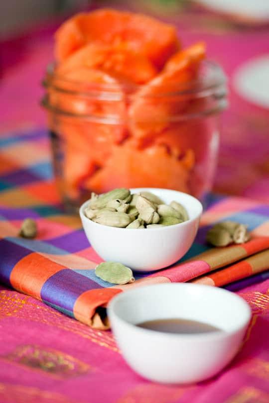 Recipe: Papaya Lassi with Cardamom: gallery image 2