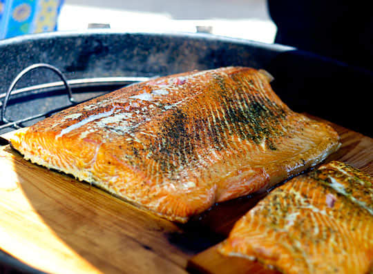 How To Grill Salmon on a Cedar Plank: gallery image 6