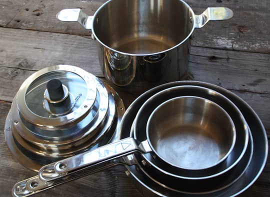 Best Stacking Pans: Natural Home's Eazistore Cookware: gallery image 1
