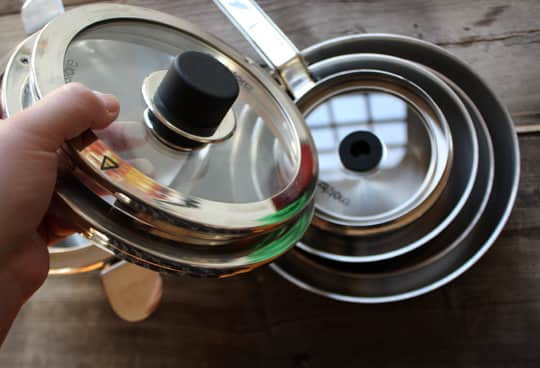 Best Stacking Pans: Natural Home's Eazistore Cookware: gallery image 5