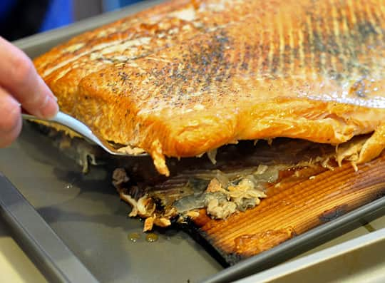 How To Grill Salmon on a Cedar Plank: gallery image 9