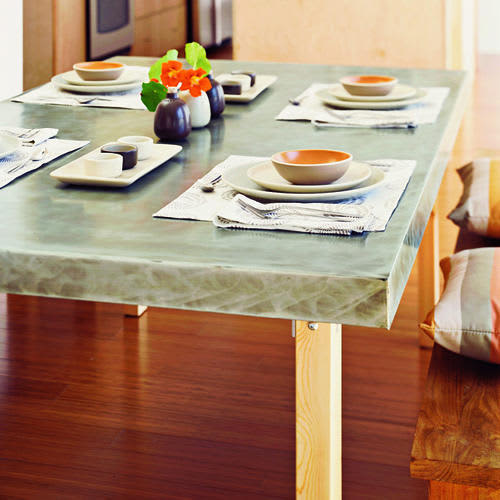 4 Examples of DIY Custom Dining Tables: gallery image 4